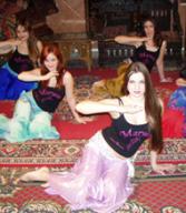 Danza del ventre, esibizione