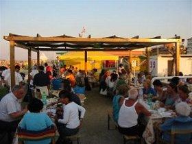 Cena in spiaggia Gradisca l