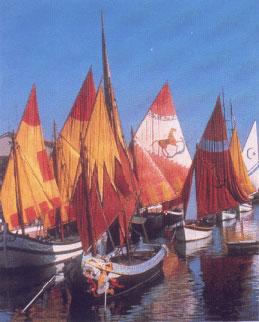 Antiche imbarcazioni Cesenatico