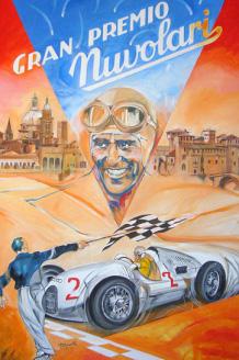 Locandina Gran Premio Nuvolari