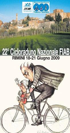 Cicloraduno Rimini, locandina