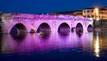 Ponte di Tiberio, Notte Rosa