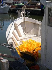 Barca pescatori di Cervia