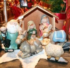 Mercatini di Natale, presepe