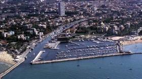 Veduta darsena Rimini