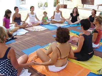 Yoga al mare di Rimini